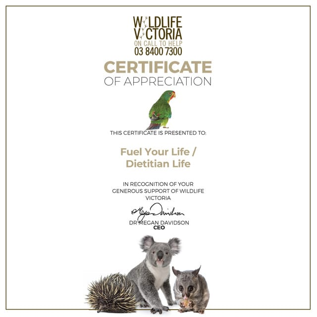 Supporting Wildlife Victoria