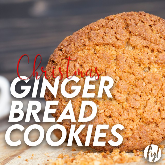 Recipe: Christmas Ginger Cookies