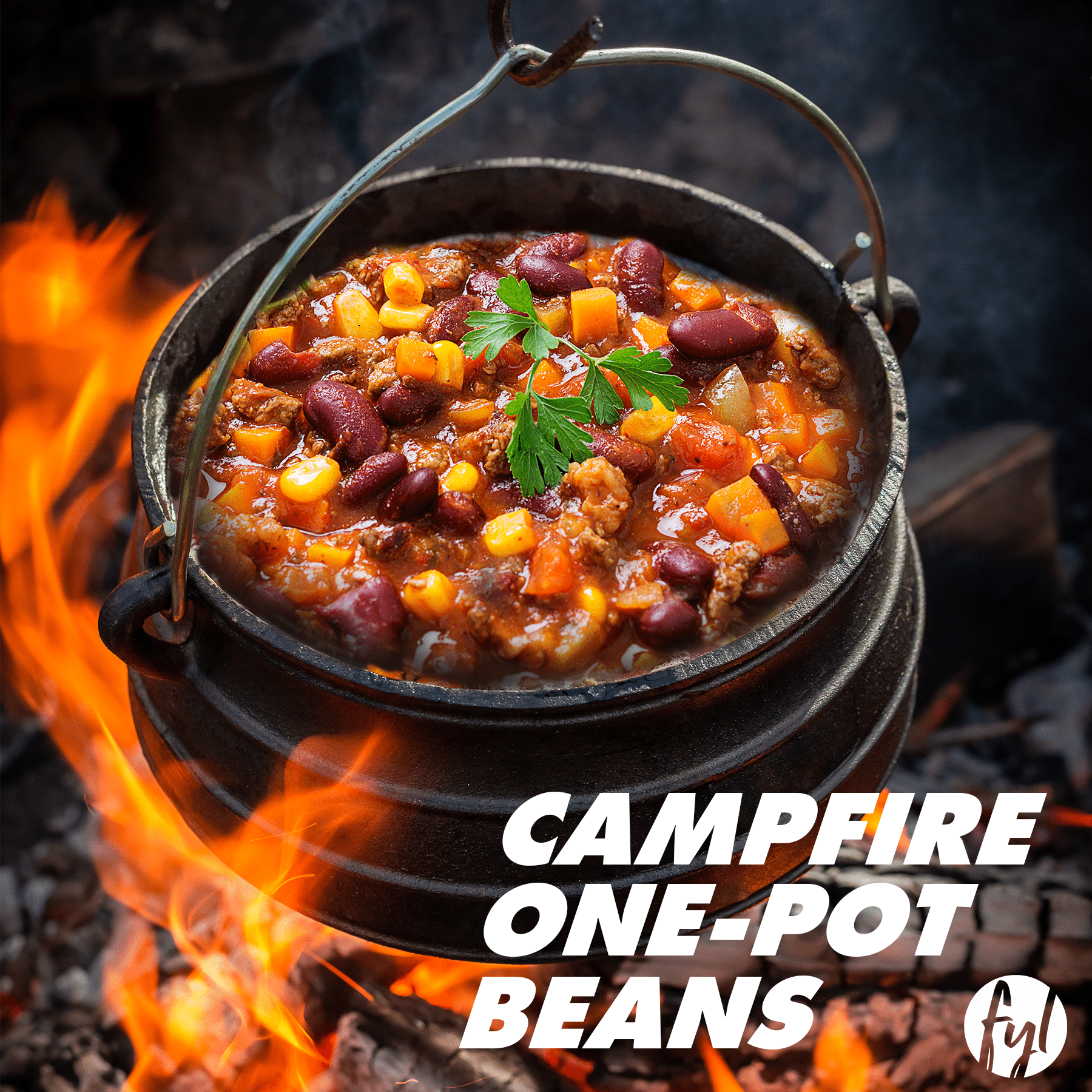 Recipe: Campfire One-Pot Beans