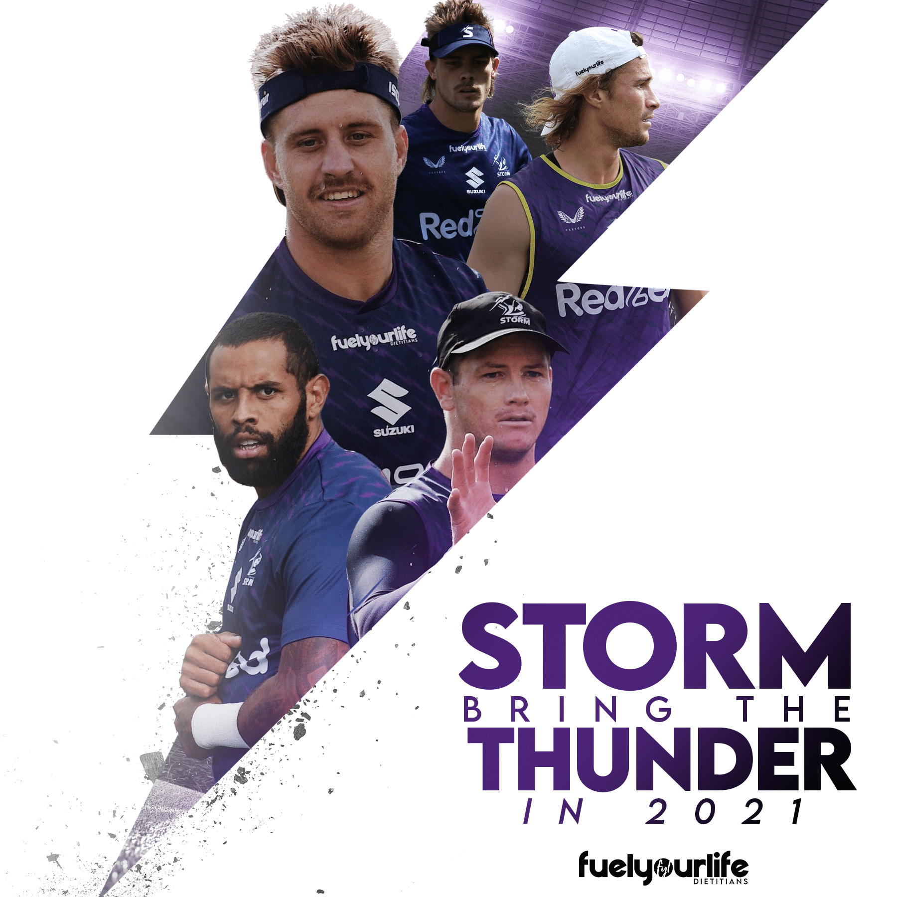 Melbourne Storm Bring The Thunder in 2021