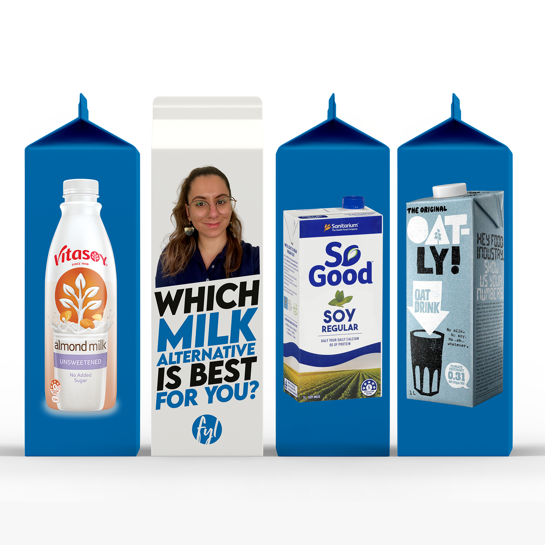 Which Milk Alternative is Best For You? (From a Dietitian's Perspective)